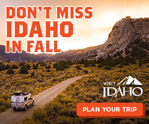 Madden Media's Visit Idaho Don't miss Idaho ad campaign - 300x250 ad