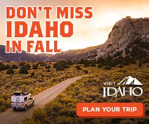Madden Media's Visit Idaho Don't miss Idaho ad campaign - 300x250 ad