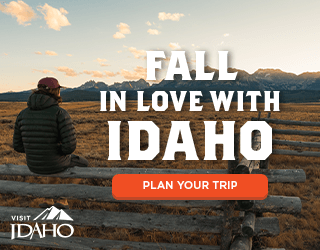 Madden Media's Visit Idaho Fall in love with Idaho ad campaign - 300x250 ad