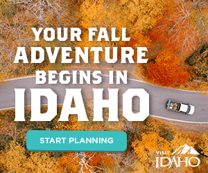 Madden Media's Visit Idaho Fall Adventure Idaho ad campaign - 300x250 ad