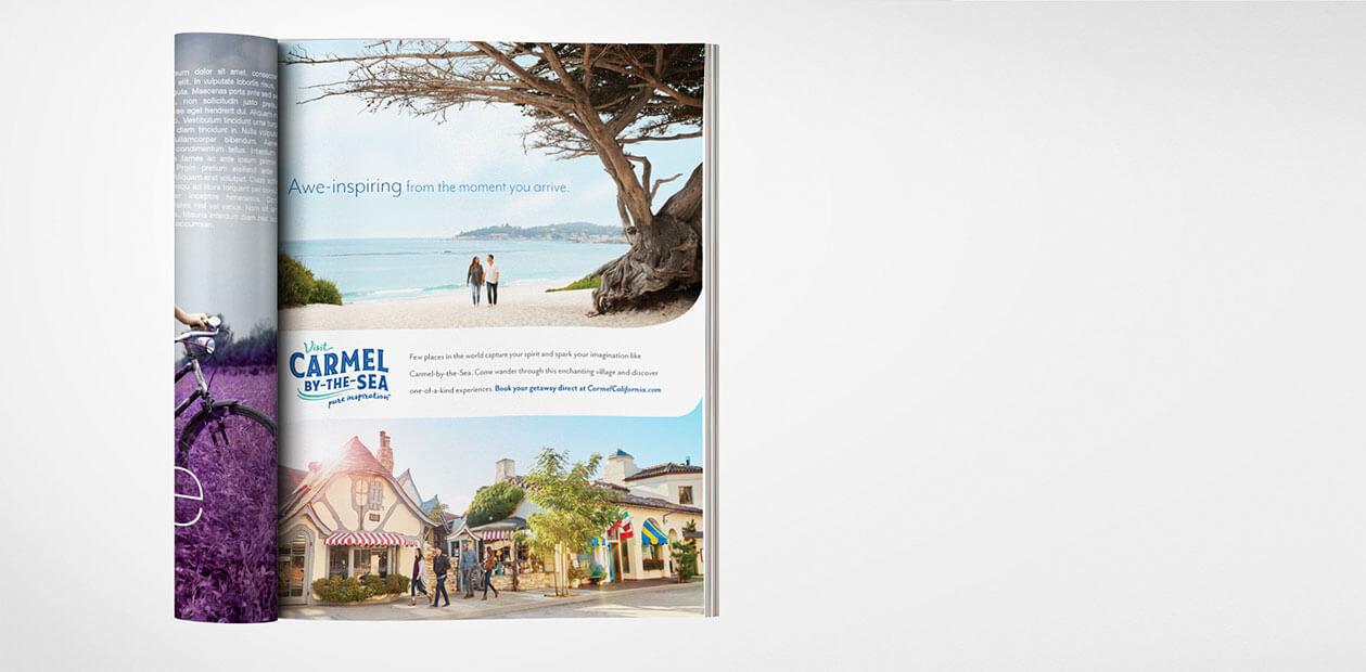 Visit Carmel Print Ad