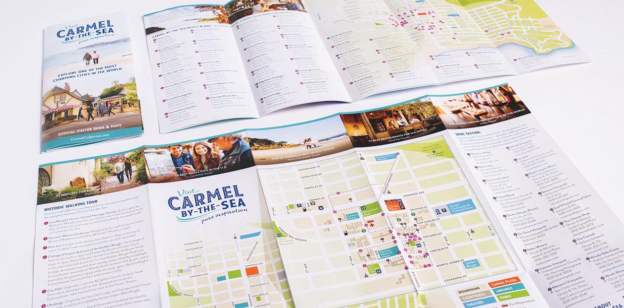 Visit Carmel Logo Mockup