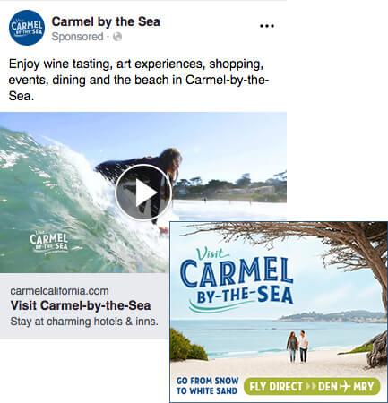 Visit Carmel Social Ads